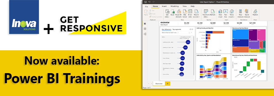 Inova Solutions now offering Power BI trainings for gathering Business Intelligence