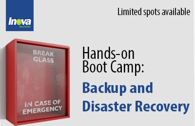 Boot Camp: Create Your Own Backup and Disaster Recovery Strategy
